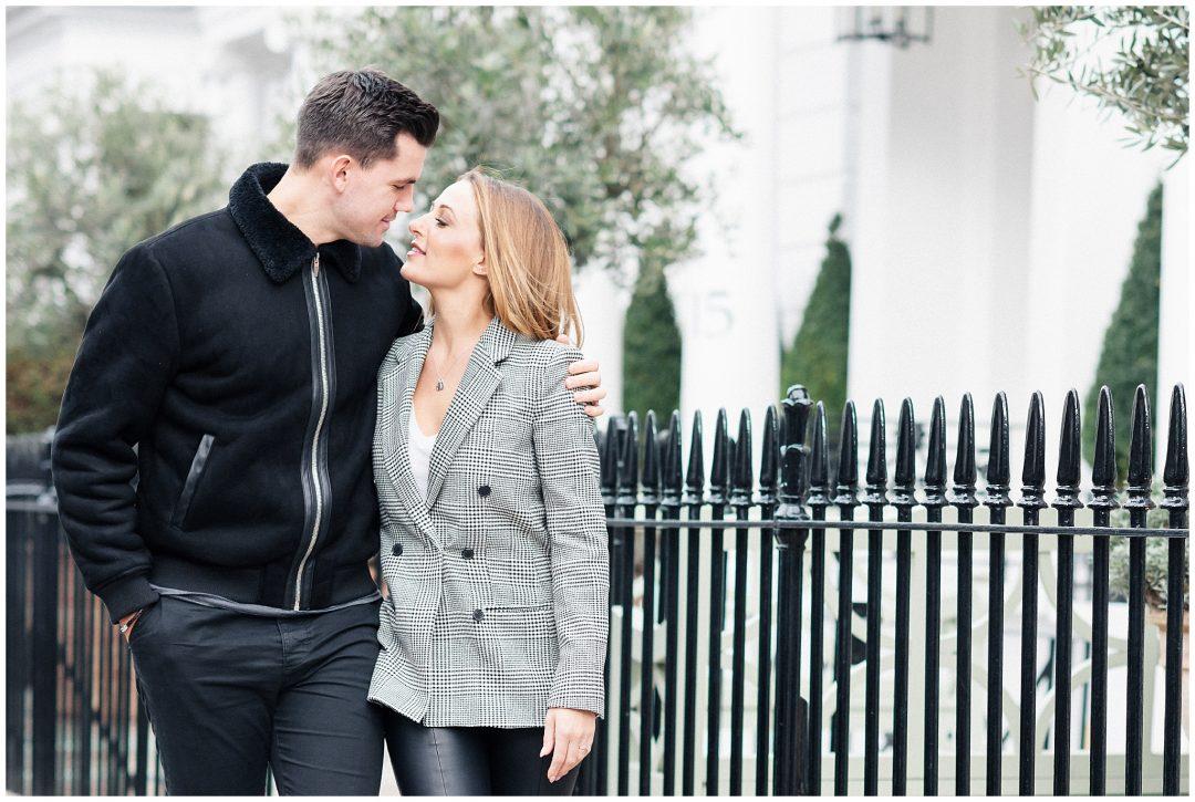 South Kensington Engagement | Michelle & Jordan
