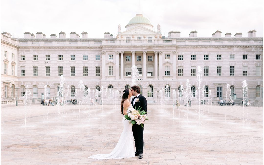 Spring Somerset House Wedding | Rob & Jess