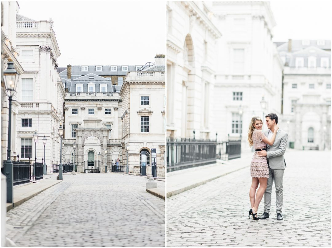 Prettiest Engagement shoot in Trafalgar square, London - lifestyle, engagement - Nkima Photography 2017 London Engagement 0012