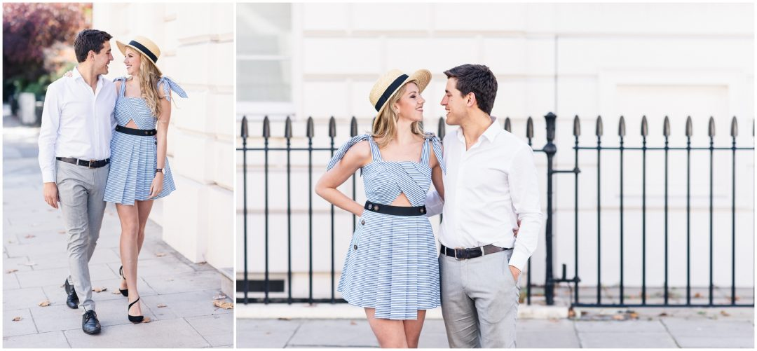 Prettiest Engagement shoot in Trafalgar square, London - lifestyle, engagement - Nkima Photography 2017 London Engagement 0037