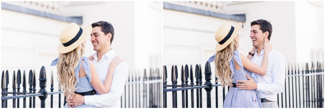 Prettiest Engagement shoot in Trafalgar square, London - lifestyle, engagement - Nkima Photography 2017 London Engagement 0040
