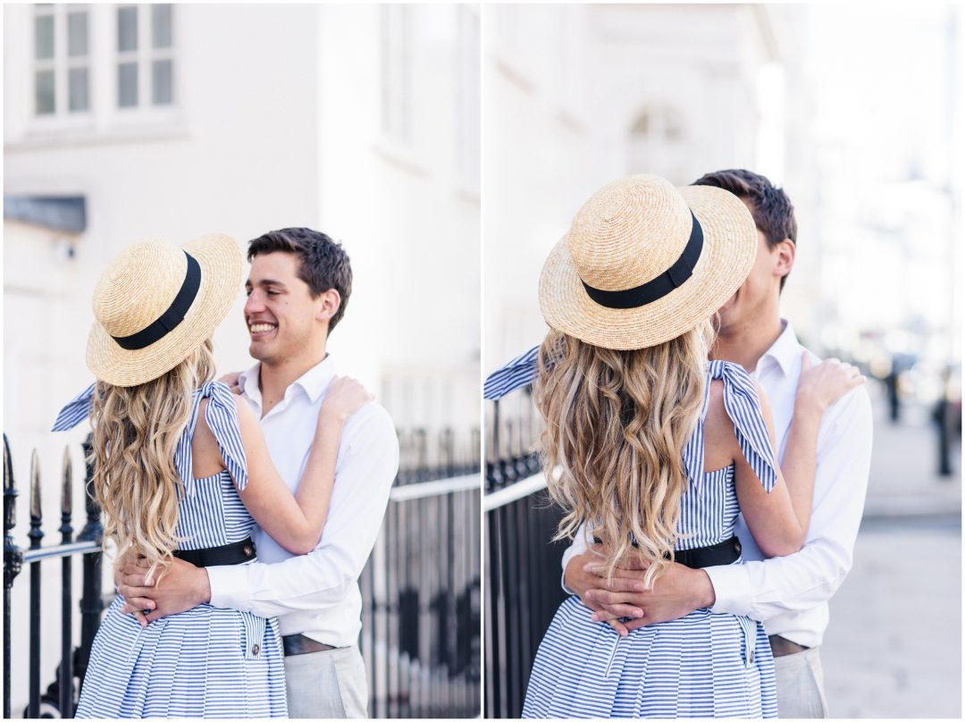Prettiest Engagement shoot in Trafalgar square, London - lifestyle, engagement - Nkima Photography 2017 London Engagement 0042