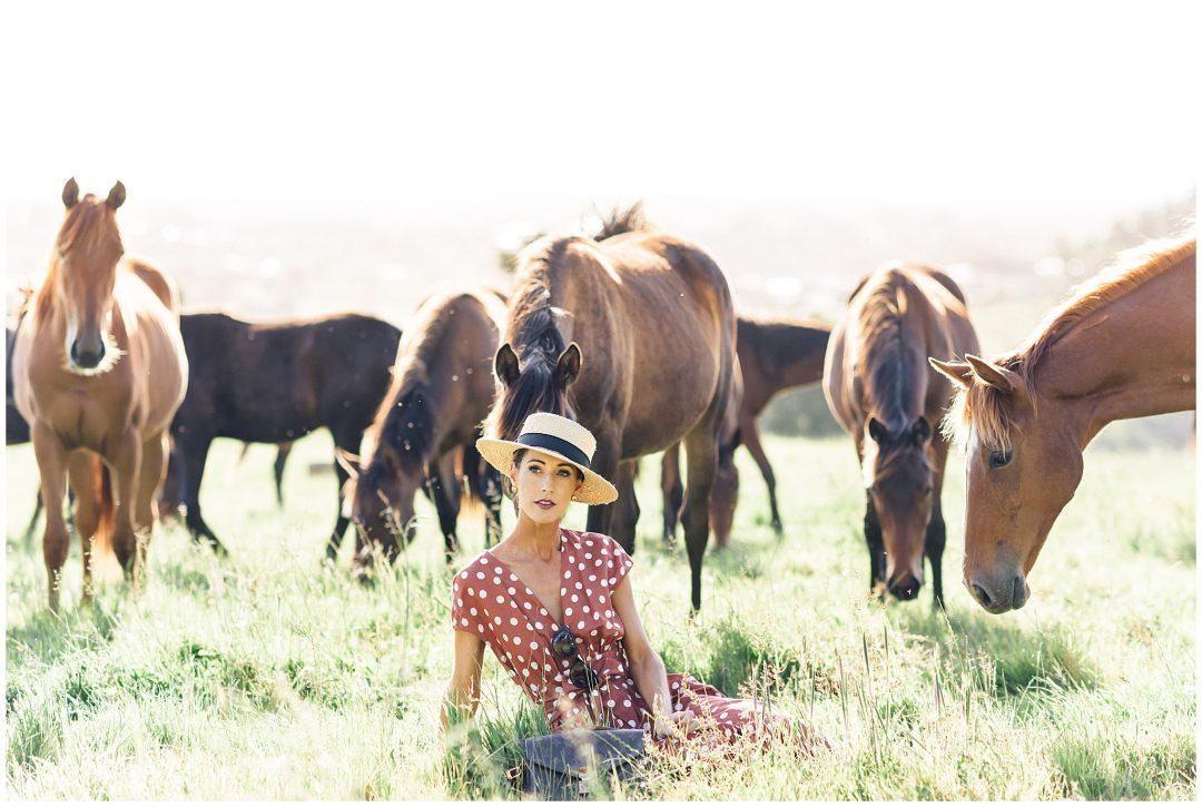 Wild horses| New Zealand Fashion photography - lifestyle - Destination fashion photographer Nkima Photography 0014
