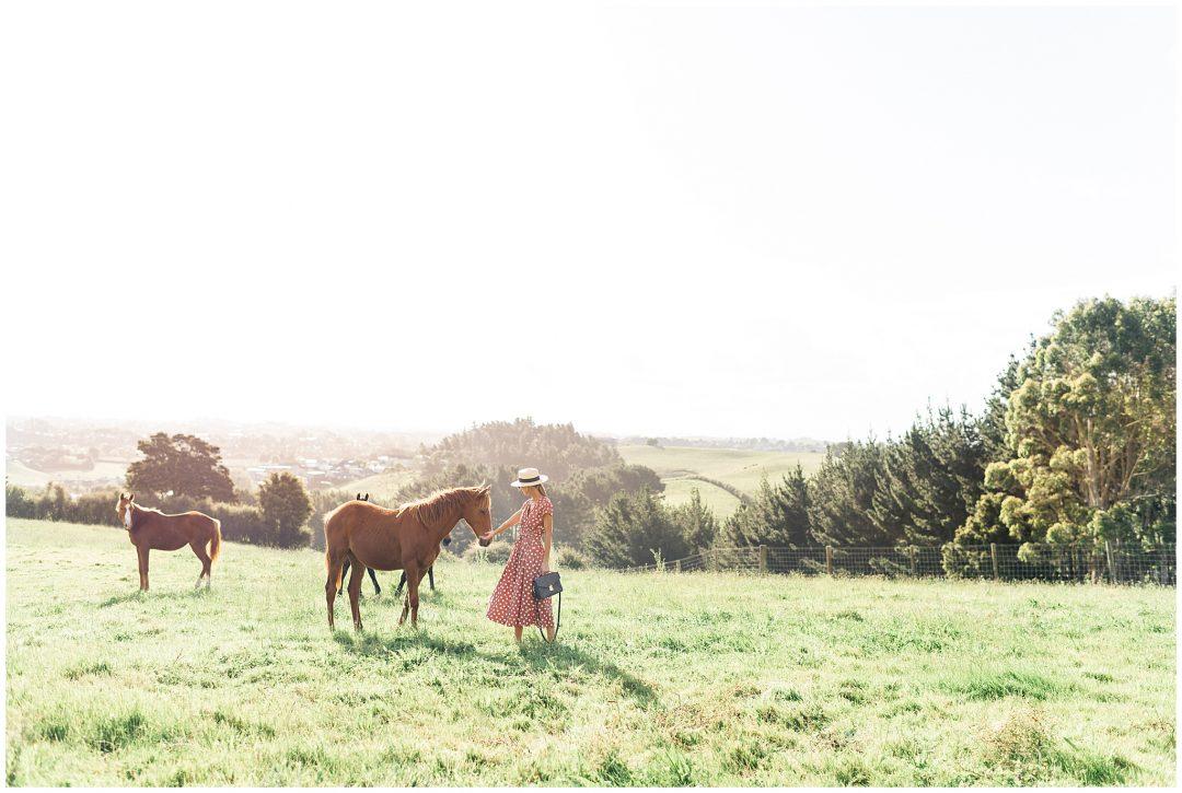 Wild horses| New Zealand Fashion photography - lifestyle - Destination fashion photographer Nkima Photography 0015