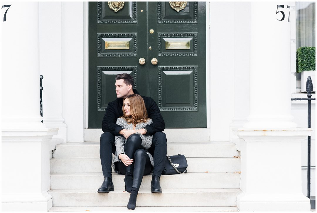 South Kensington Engagement | Michelle & Jordan - engagement - London wedding photographer Nkima Photography 0001