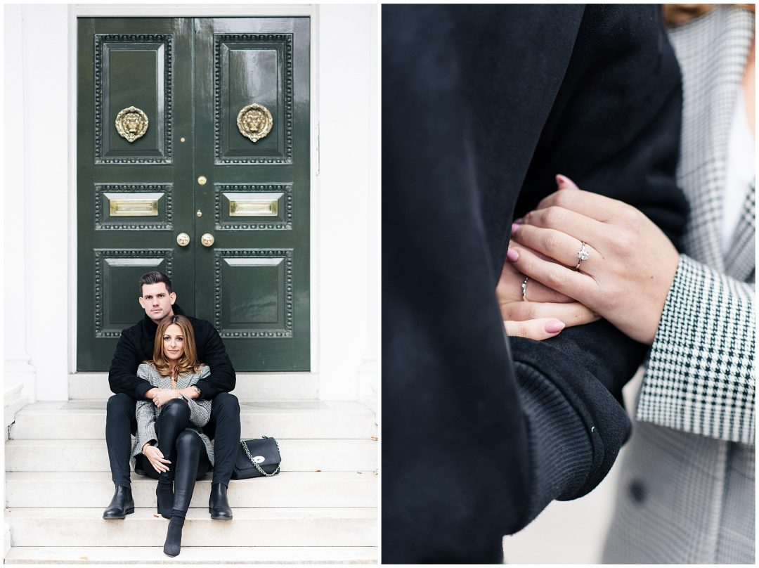 South Kensington Engagement | Michelle & Jordan - engagement - London wedding photographer Nkima Photography 0003