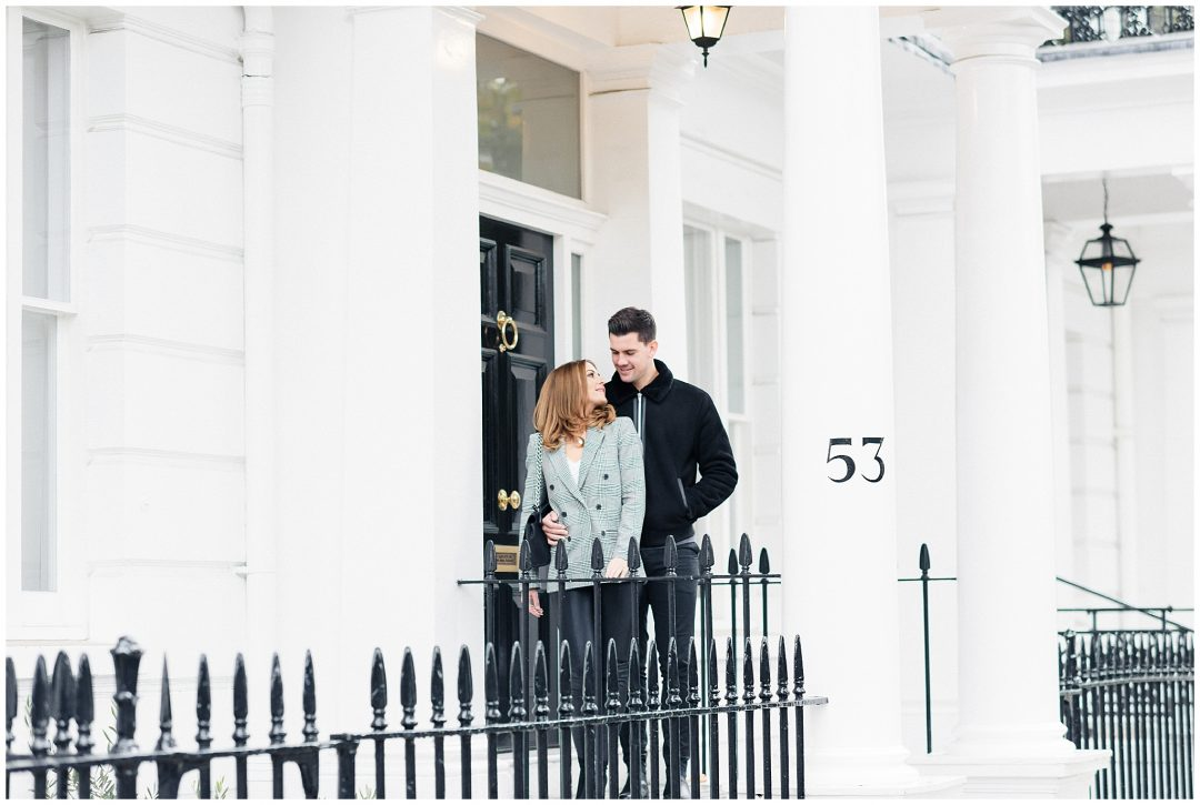 South Kensington Engagement | Michelle & Jordan - engagement - London wedding photographer Nkima Photography 0006