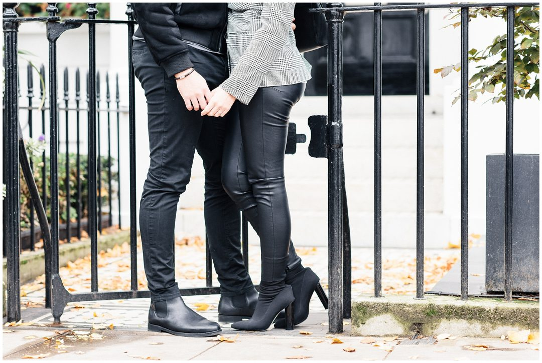 South Kensington Engagement | Michelle & Jordan - engagement - London wedding photographer Nkima Photography 0007