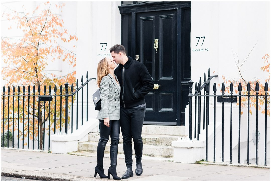 South Kensington Engagement | Michelle & Jordan - engagement - London wedding photographer Nkima Photography 0009