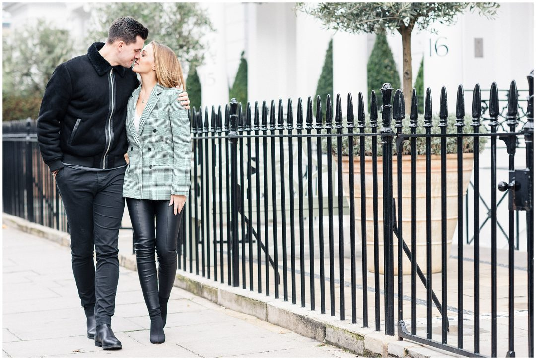 South Kensington Engagement | Michelle & Jordan - engagement - London wedding photographer Nkima Photography 0010