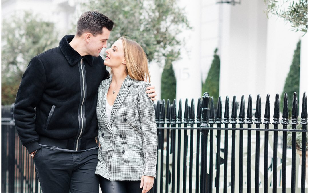 South Kensington Engagement | Michelle & Jordan