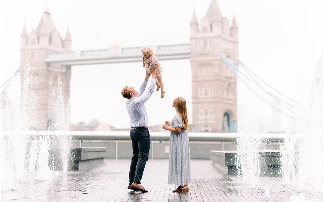 London family photographer, Tower Bridge