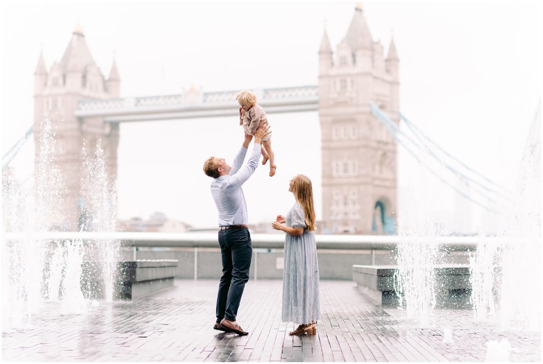 London family photographer, Tower Bridge