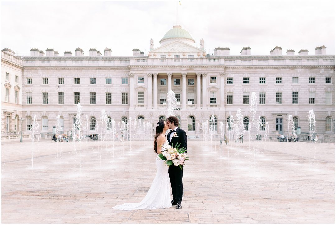 Spring Somerset House Wedding | Rob & Jess